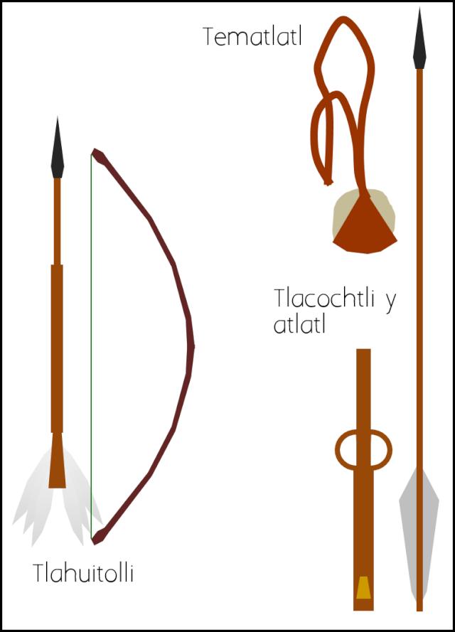 [Yenedge] Armas de madera y obsidiana Aztec_11