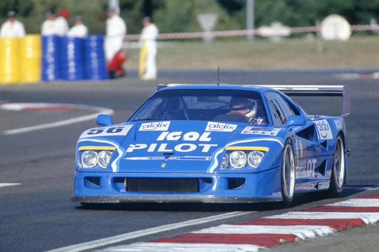 Les grandes Ferrari de l'endurance. F40lm_10