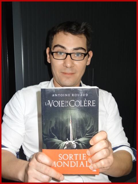 Rencontre avec Antoine ROUAUD - Paris, 25 octobre 2013 Dsc06811