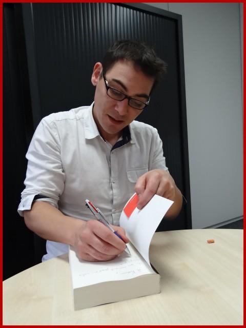 Rencontre avec Antoine ROUAUD - Paris, 25 octobre 2013 Dsc06813