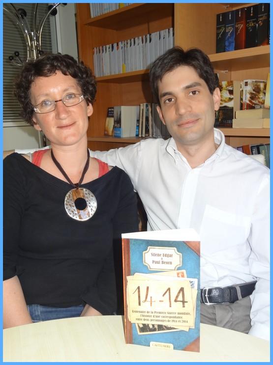 Rencontre avec Silène EDGAR et Paul BEORN - Paris, 10 avril 2014 Dsc09510