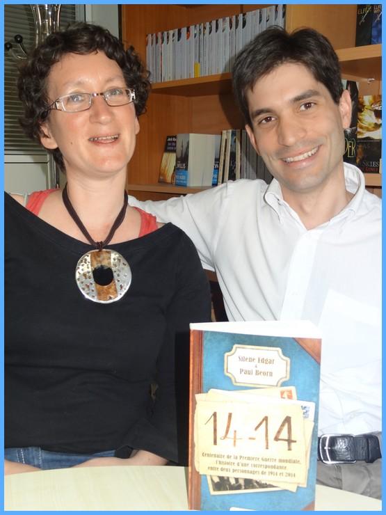 Rencontre avec Silène EDGAR et Paul BEORN - Paris, 10 avril 2014 Dsc09511