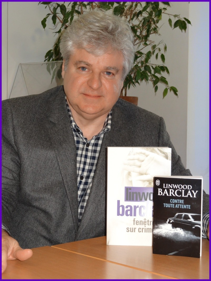 Rencontre avec Linwood BARCLAY - Paris 5 mai 2014 Dsc09911