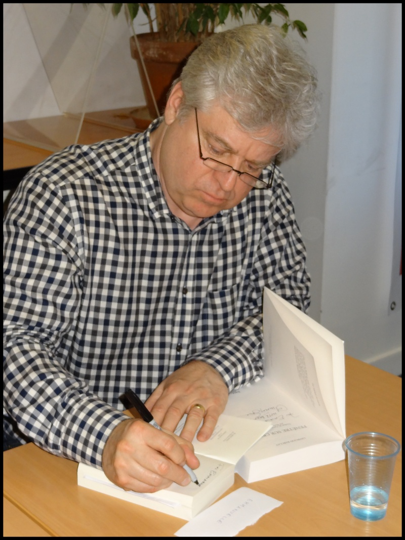 Rencontre avec Linwood BARCLAY - Paris 5 mai 2014 Dsc09916