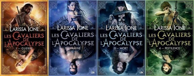 IONE Larissa - LES CAVALIERS DE L'APOCALYPSE - Tome 1 (DEMONICA 6) : Guerre Les_ca10
