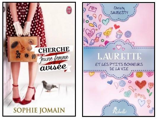 Quand Sophie JOMAIN et Christy SAUBESTY se lancent dans la romance contemporaine... Interview ! Rc10