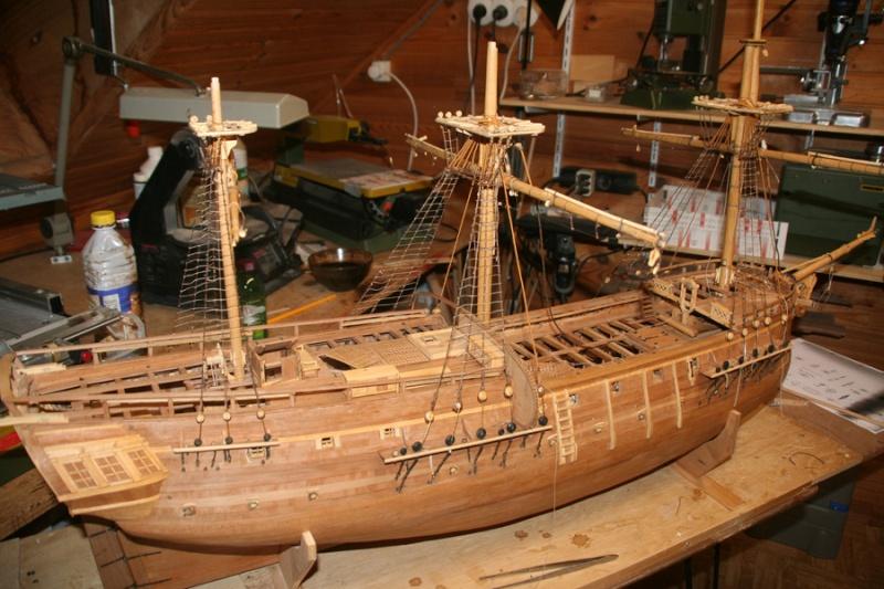 Aurore  navire négrier de J.Boudriot ech:1/36  - Page 2 017b11