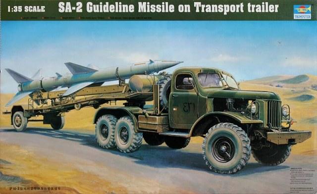 SA 2 guideline guerre du  Yom Kippour  1/35 10400610