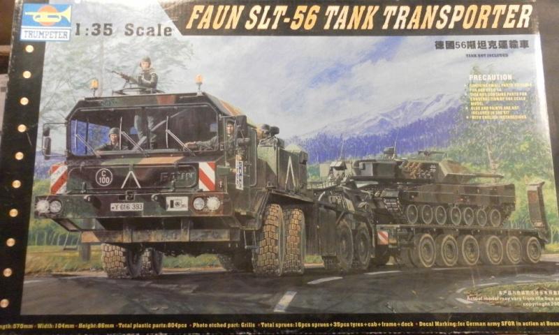 FAUN SLT 56 1/35 trumpeter Box12