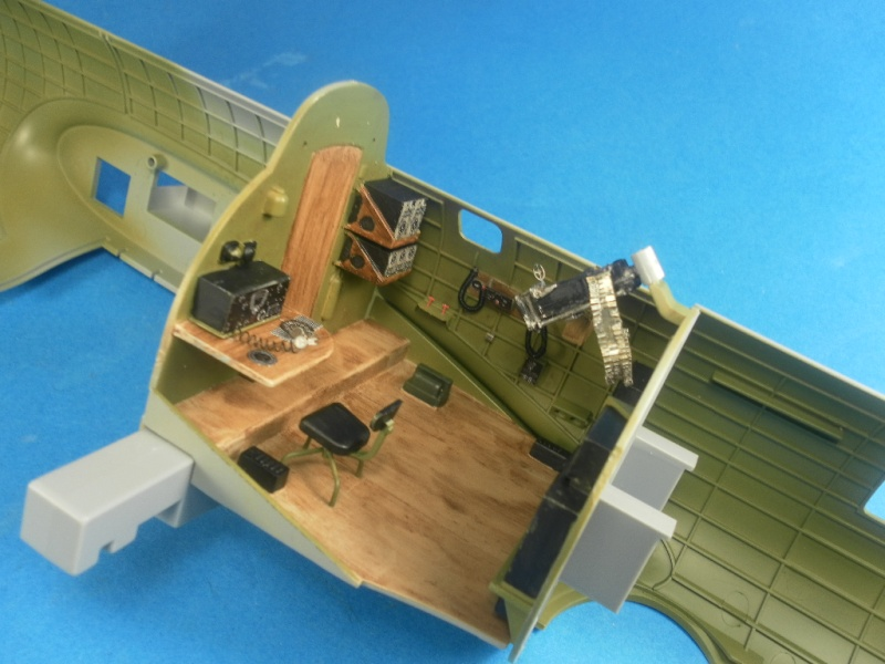 B 17G HK model 1/32° Rad10
