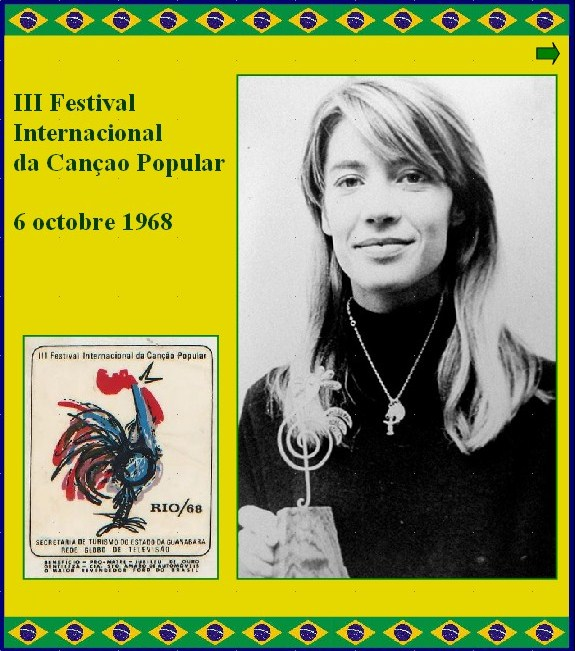 1968 - Festival International de la chanson (Rio) Rio19610