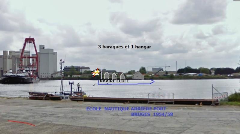 Ecole nautique de Bruges (1954 à 1958) Bruges10