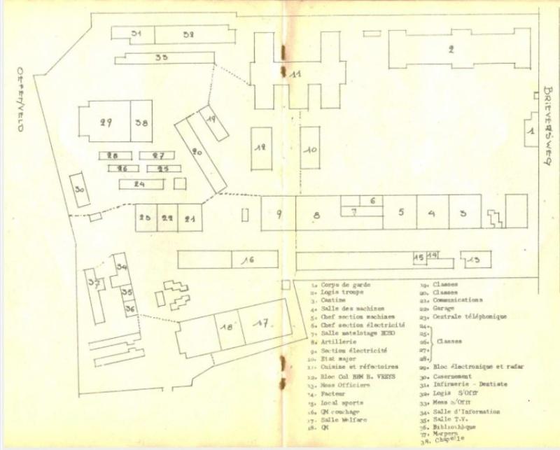 Historique de COMINAV, caserne LDV Victor BILLET St_x10