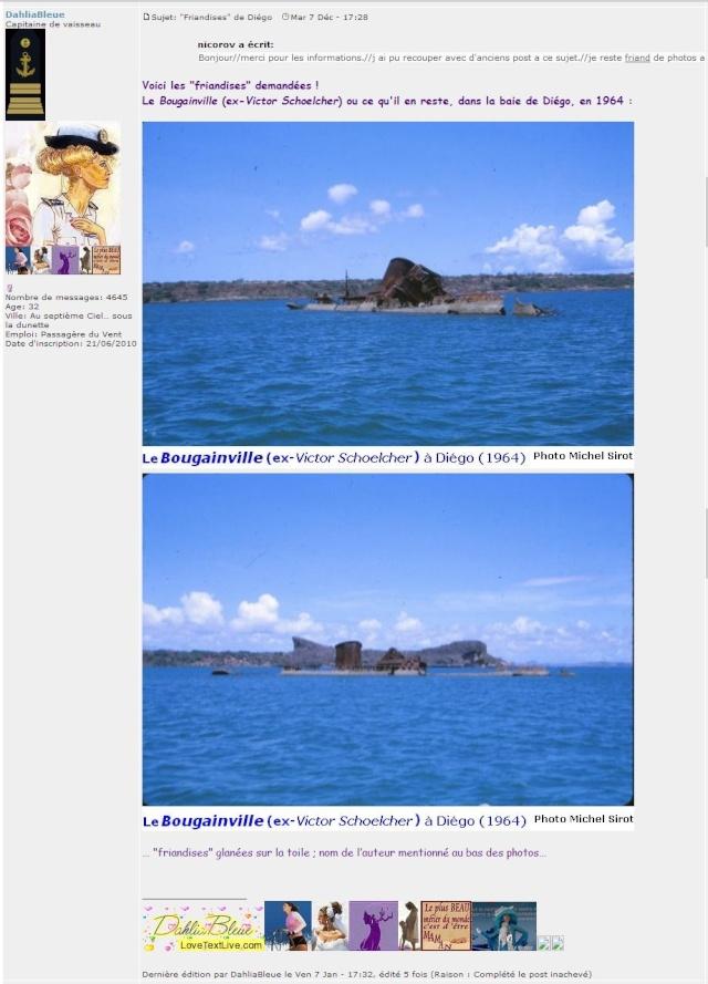 Il y a t'il des bateaux militaires francais survivants de la seconde guerre mondiale de nos jours ? - Page 2 Bougai11