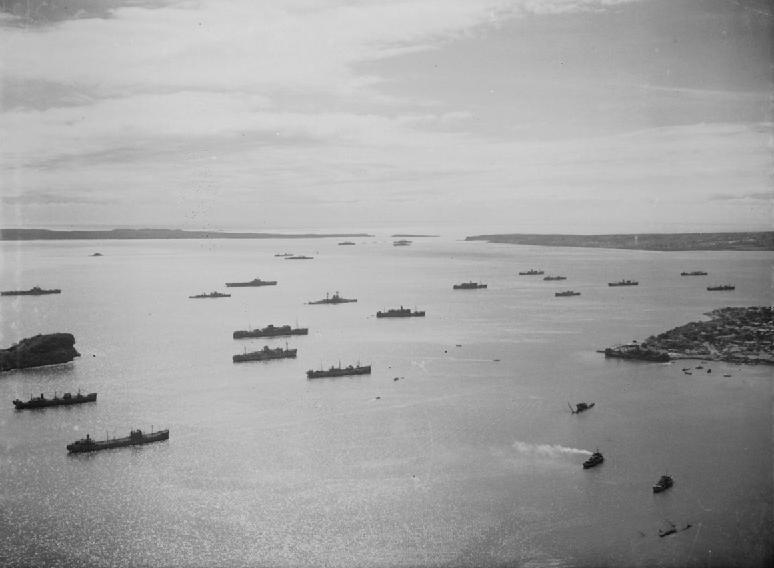 La bataille de Madagascar. et souvenir d'enfance à Ivato Ships_10