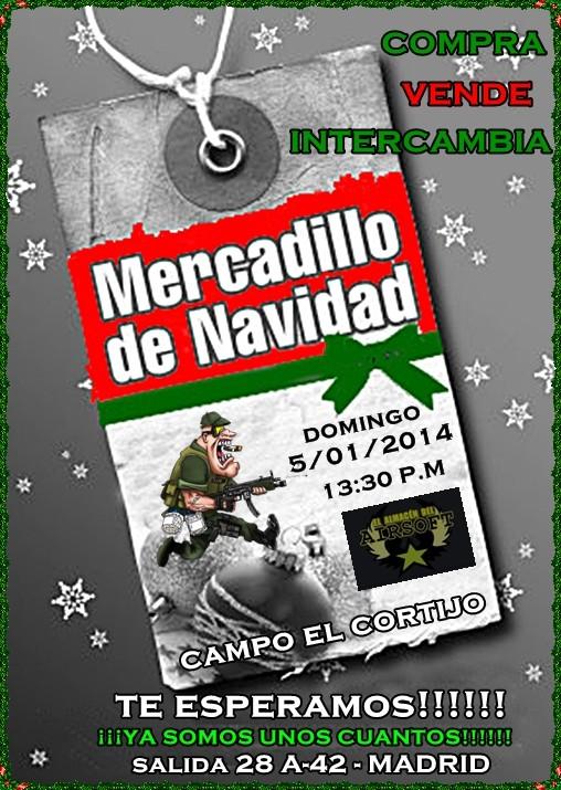 MERCADILLO NAVIDEÑO!!!! DOMINGO 5/01/2014 EN EL CORTIJO Cartel10