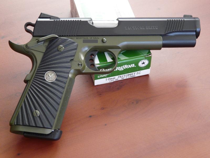 Plaquettes pour Colt 1911 Wcte11