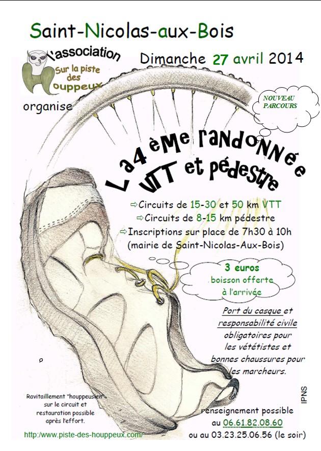 27/04/14 rando des houppeux à st nicolas aux bois Affich10