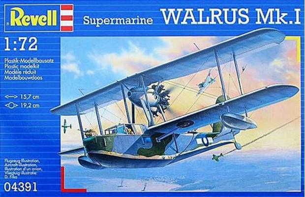 [revell] supermarine walrus Mk1....... MONTAGE TERMINE 10125410