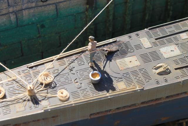 diorama u boot u 505 en cale seche 20810