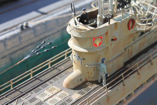 diorama u boot u 505 en cale seche 20910