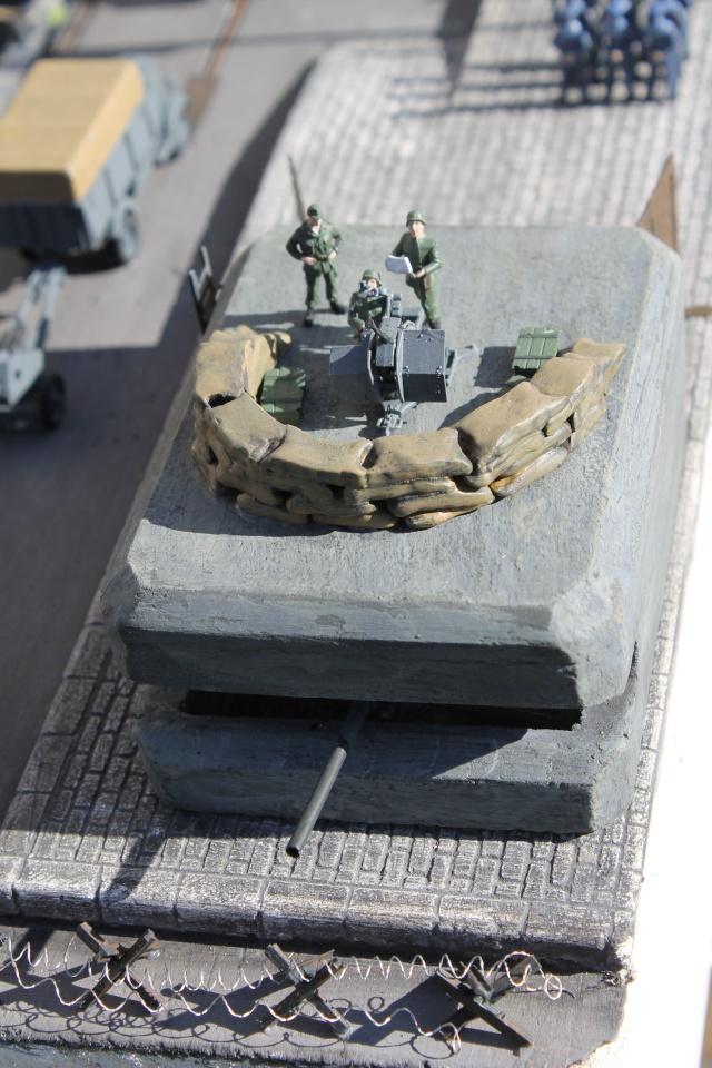 diorama u boot u 505 en cale seche 21410