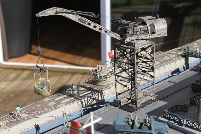 diorama u boot u 505 en cale seche 21610