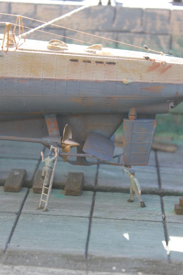 diorama u boot u 505 en cale seche 22110