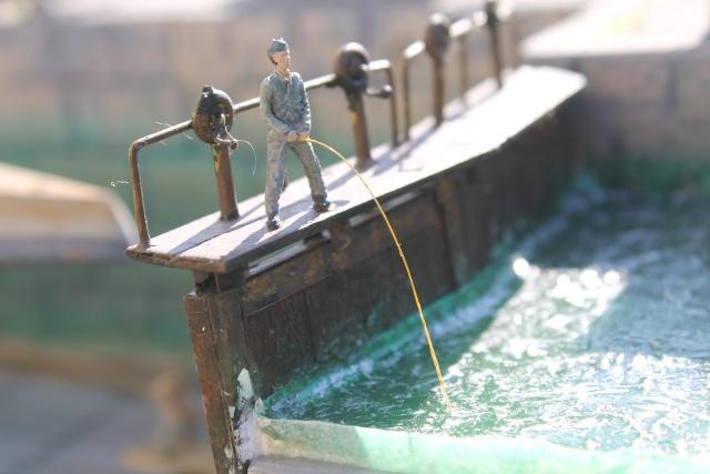 diorama u boot u 505 en cale seche 22210
