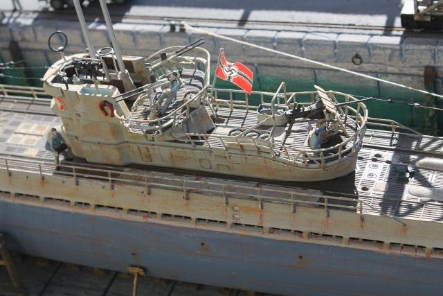 diorama u boot u 505 en cale seche 22310