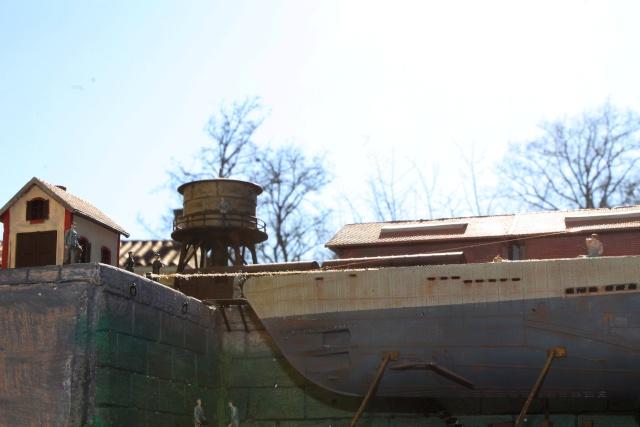 diorama u boot u 505 en cale seche 22810