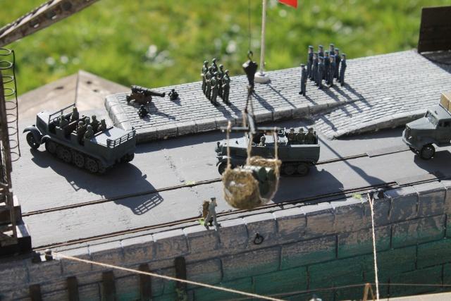 diorama u boot u 505 en cale seche 23610