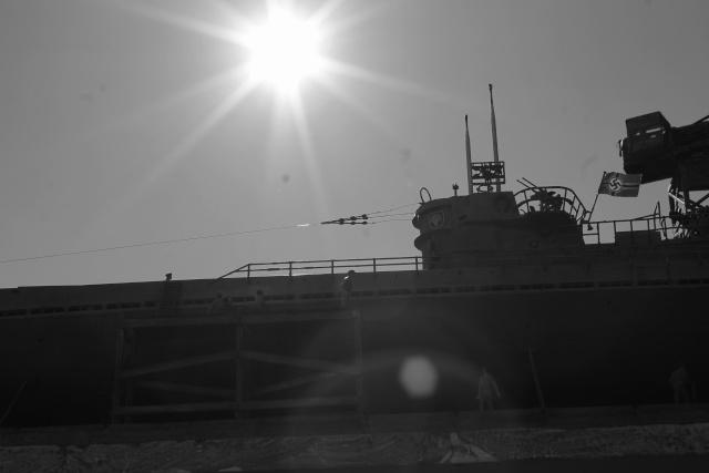 diorama u boot u 505 en cale seche 24810