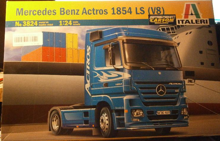 Mercedes Benz  Actros 1854 (V8) P2020010