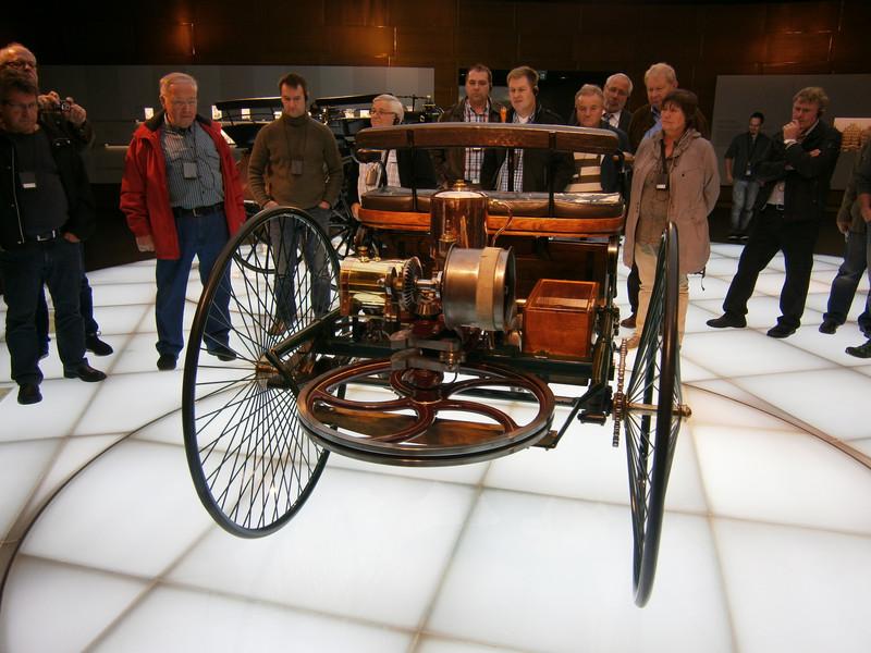 Im Mercedes-Benz Museum P9210016