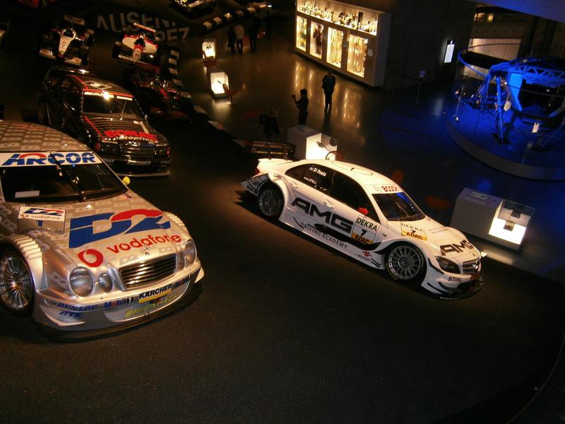 Im Mercedes-Benz Museum P9210075