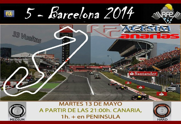 CONFIRMA ASISTENCIA GP BARCELONA 2014 Presen17