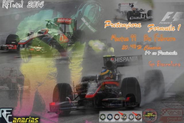 PRIMERA CARRERA PRETEMPORADA DE F1 Pretem11