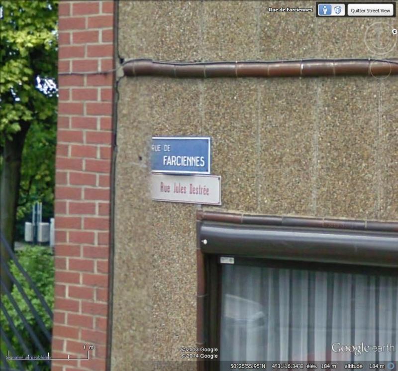 STREET VIEW : choix des noms de rues Zoom10