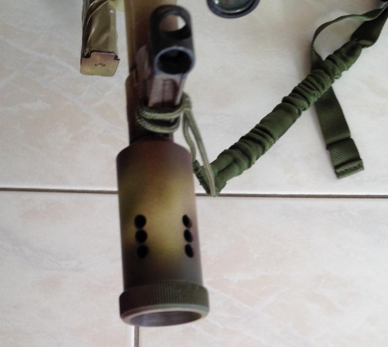 Cache flammes AKMS 47 & préserver mes oreilles - Page 2 Ak211