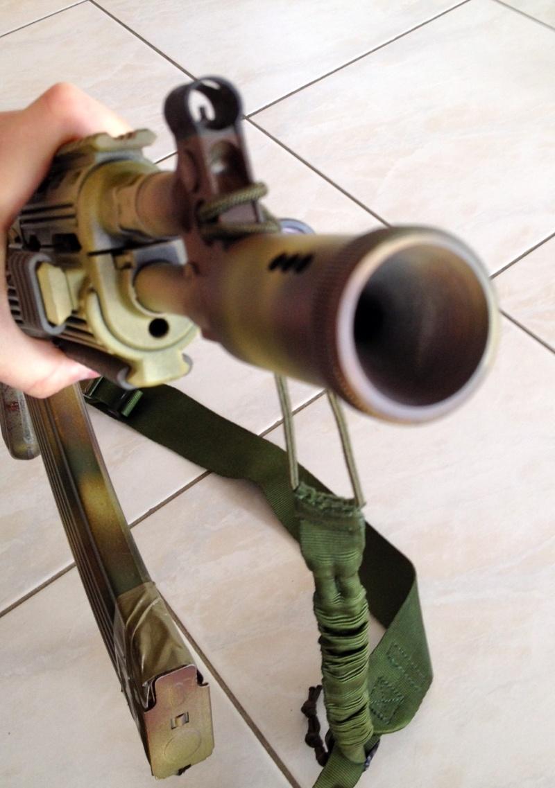 Cache flammes AKMS 47 & préserver mes oreilles - Page 2 Ak310