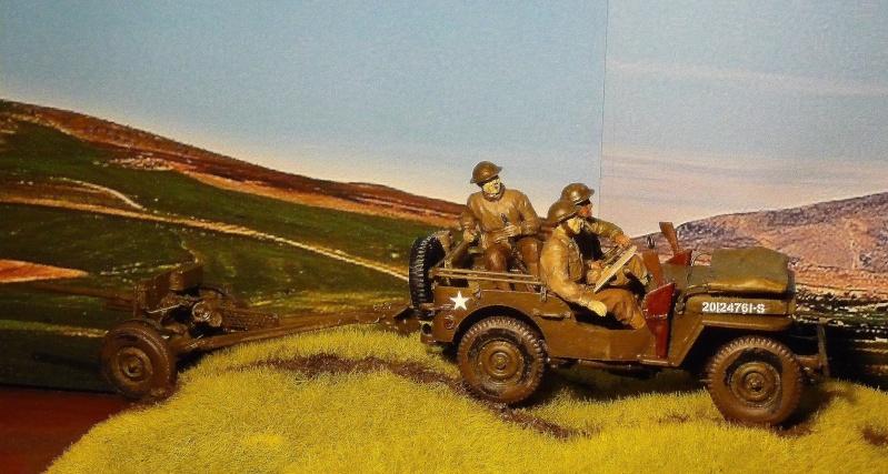 BRONCO - JEEP US 1/4 TON FORD modèle 1942 canon 37mm  anti chars M3A1 P1050413