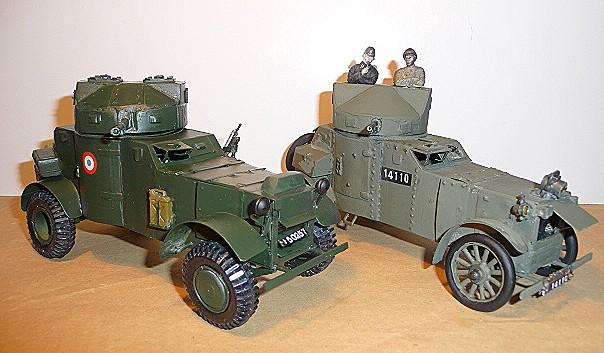 MES DEUX VERSIONS D'A.M. WHITE LAFFLY 50 - 1/35 - modèle 1920 et  Liban 1942    P1050527