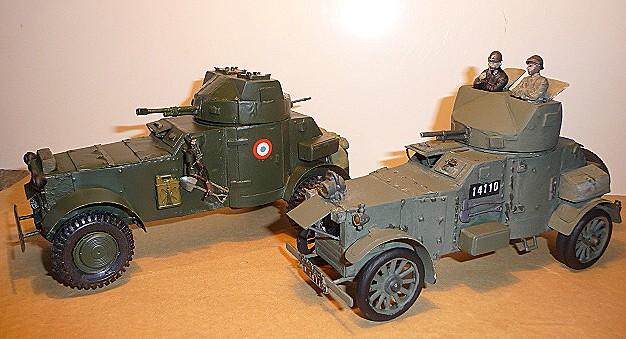 MES DEUX VERSIONS D'A.M. WHITE LAFFLY 50 - 1/35 - modèle 1920 et  Liban 1942    P1050529