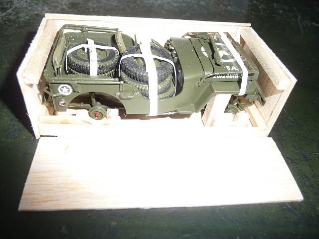 MAROC 1943- Livraison des JEEP FORD GPW en caisses bois P1050550