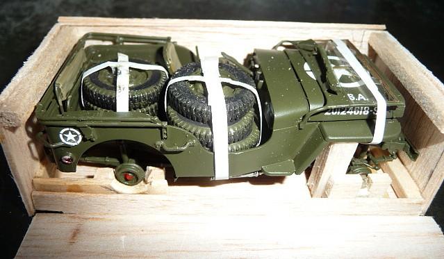 MAROC 1943- Livraison des JEEP FORD GPW en caisses bois P1050551