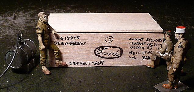 MAROC 1943- Livraison des JEEP FORD GPW en caisses bois P1050552