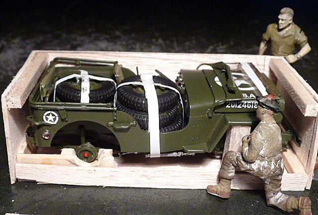 MAROC 1943- Livraison des JEEP FORD GPW en caisses bois P1050553