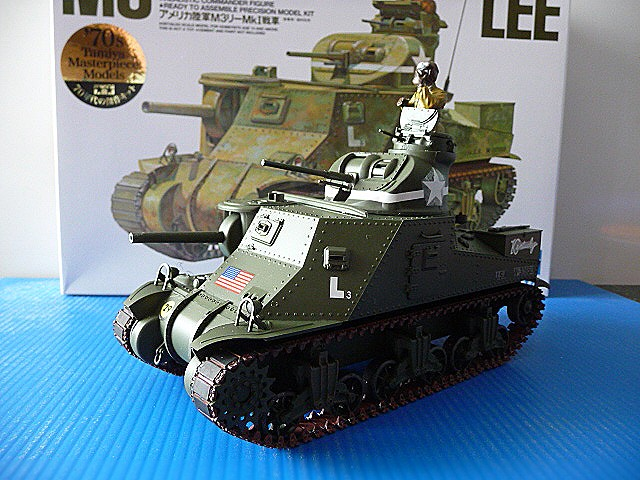 Tunisie - Passe de Kasserine 1942- M3 Medium tank LEE MKI   - Tamiya 1/35  - réf= 35039-1900 P1050555