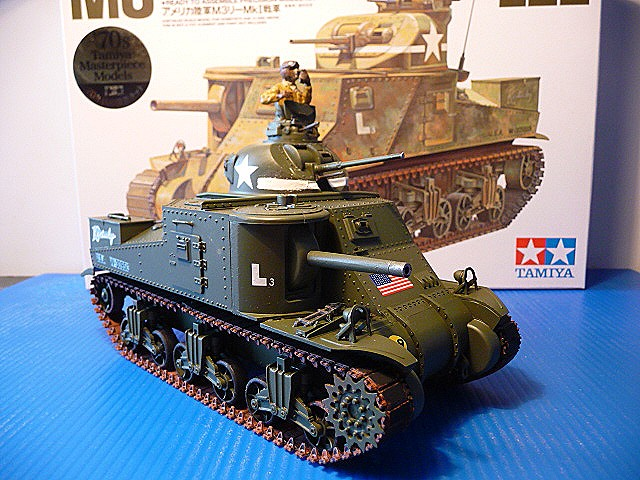 Tunisie - Passe de Kasserine 1942- M3 Medium tank LEE MKI   - Tamiya 1/35  - réf= 35039-1900 P1050556
